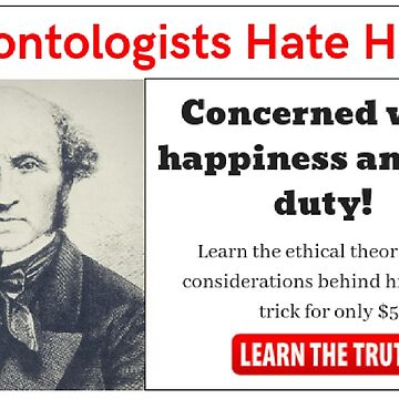 Deontologists Hate Him by causticjackass