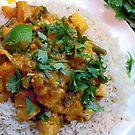 Thai Squash and Pineapple Curry by John Hooton