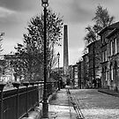 Streets of Saltaire by Stephen Knowles