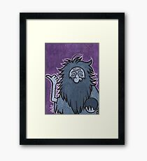 Gus - Hitchhiking Ghost - The Haunted Mansion Framed Print