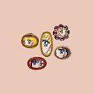 Sailor Moon Victorian Lovers Auge von PeachPantone