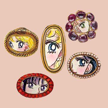 Sailor Moon Victorian Lover's Eye de PeachPantone