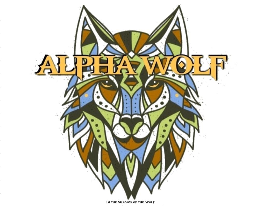 Tribal Alpha Wolf by WolfShadow27