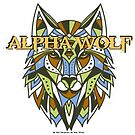 Tribal Alpha Wolf by WolfShadow27