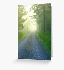 Into Oblivion Greeting Card