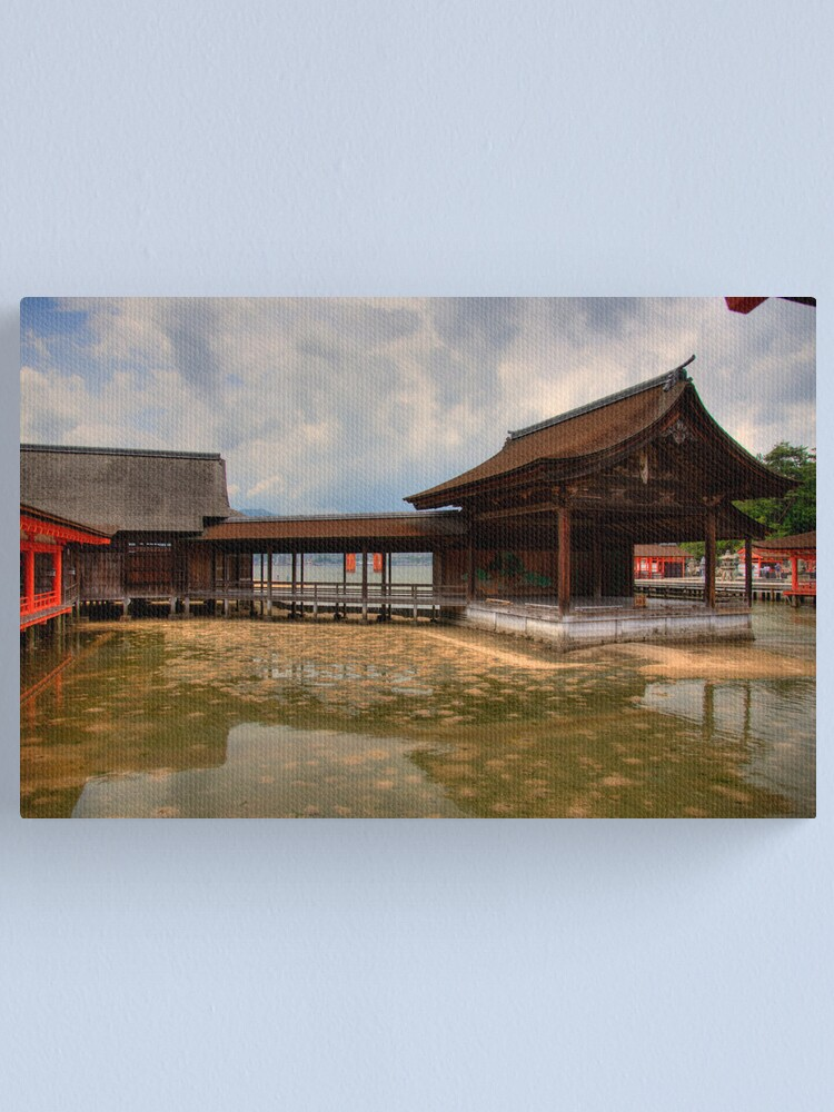 Alternate view of Water Shrine Canvas Print