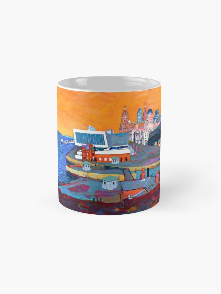 Alternate view of Liverpool: The Pier Head from the Tate Mugs