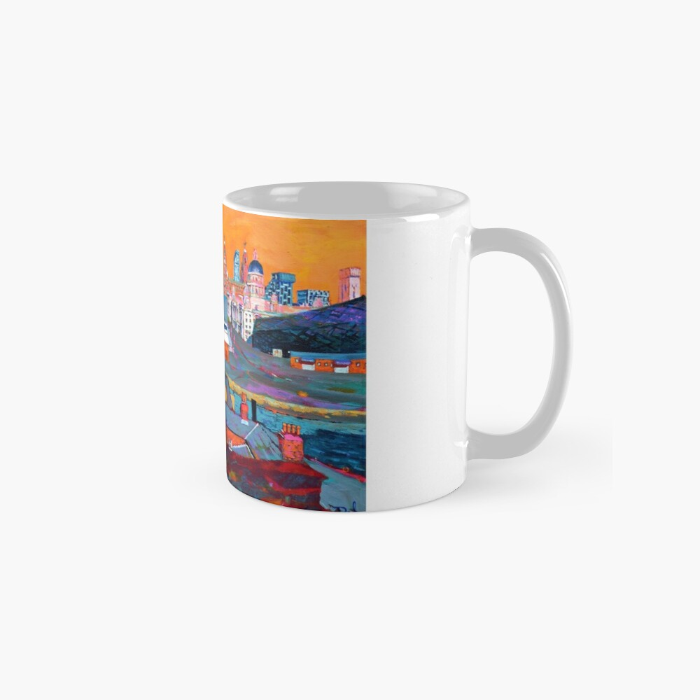 Liverpool: The Pier Head from the Tate Mugs