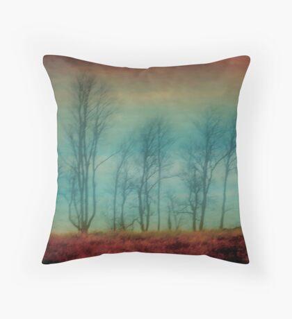 Treeline # 2 Throw Pillow