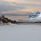 Suilven and a Frozen Cam Loch by derekbeattie