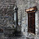 Courtyard of Chillon Castle. Montreux, Switzerland by Igor Pozdnyakov