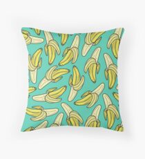 BANANA - JADE Throw Pillow