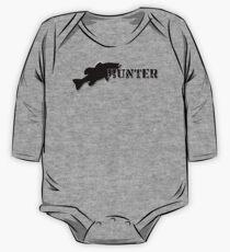 Bass Hunter - Bass fishing t-shirt One Piece - Long Sleeve