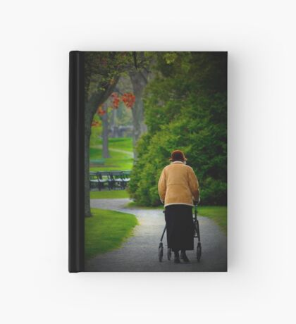 The Afternoon Stroll Hardcover Journal
