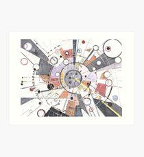 Information Superhighway Art Print