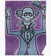 Ezra - Hitchiking Ghost - The Haunted Mansion Poster