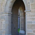 Cloister Arches, Bendigo Cathedral by lezvee