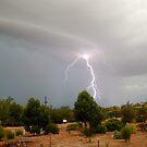 Daytime C2G Lightning Strike by Grant Scollay