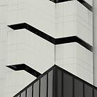 architectural # 12 - parallel black stripes by fabio piretti