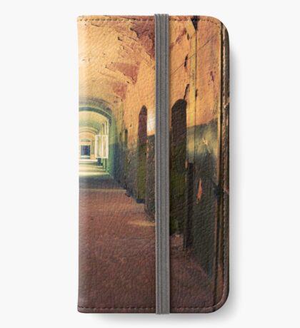 Abandoned Places Asylum Hallway iPhone Wallet