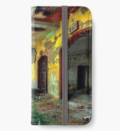 Abandoned Places Forgotten Factory iPhone Wallet