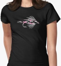 Pink Camo Fly - Fly Fishing T-shirt T-Shirt