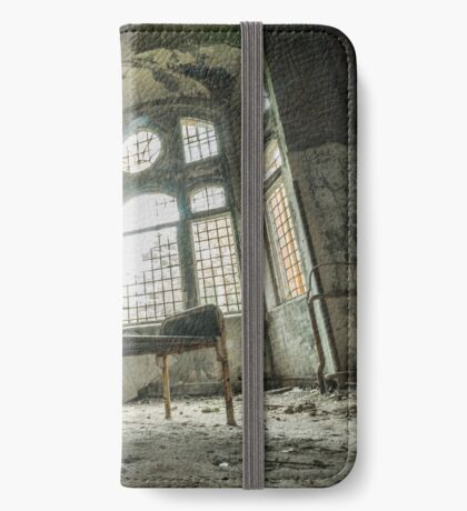 Abandoned Places Arched Window iPhone Wallet