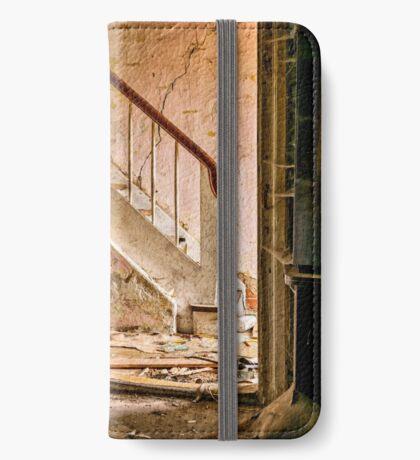 Abandoned Places Open Doorway iPhone Wallet