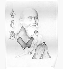 Aikido's Founder, Morihei Ueshiba Poster