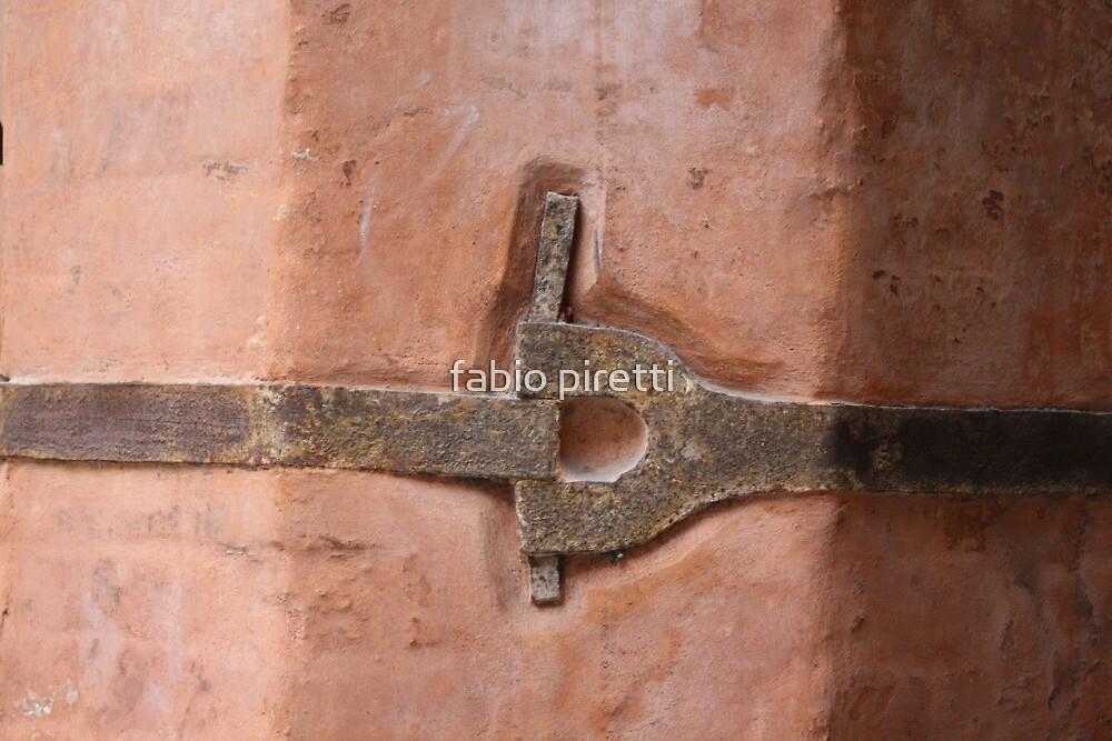 iron tie-beam by fabio piretti
