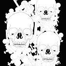 Skeleton Keys and Skulls by Lukasz  Czyzewski