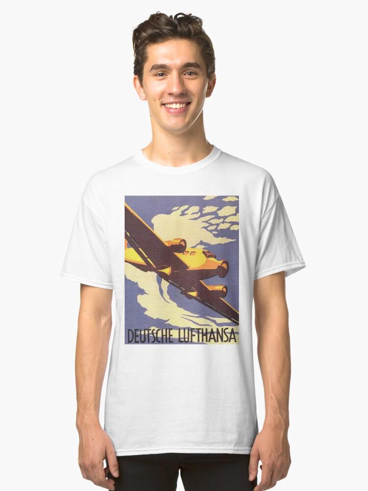 Alternate view of Lufthansa Junkers Ju52 Classic T-Shirt