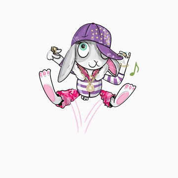 Hip Hop Bunny by flamingrhino