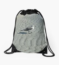 Wednesday Waves Drawstring Bag
