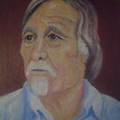 Portrait of the artist Richard Tuvey by Richard  Tuvey