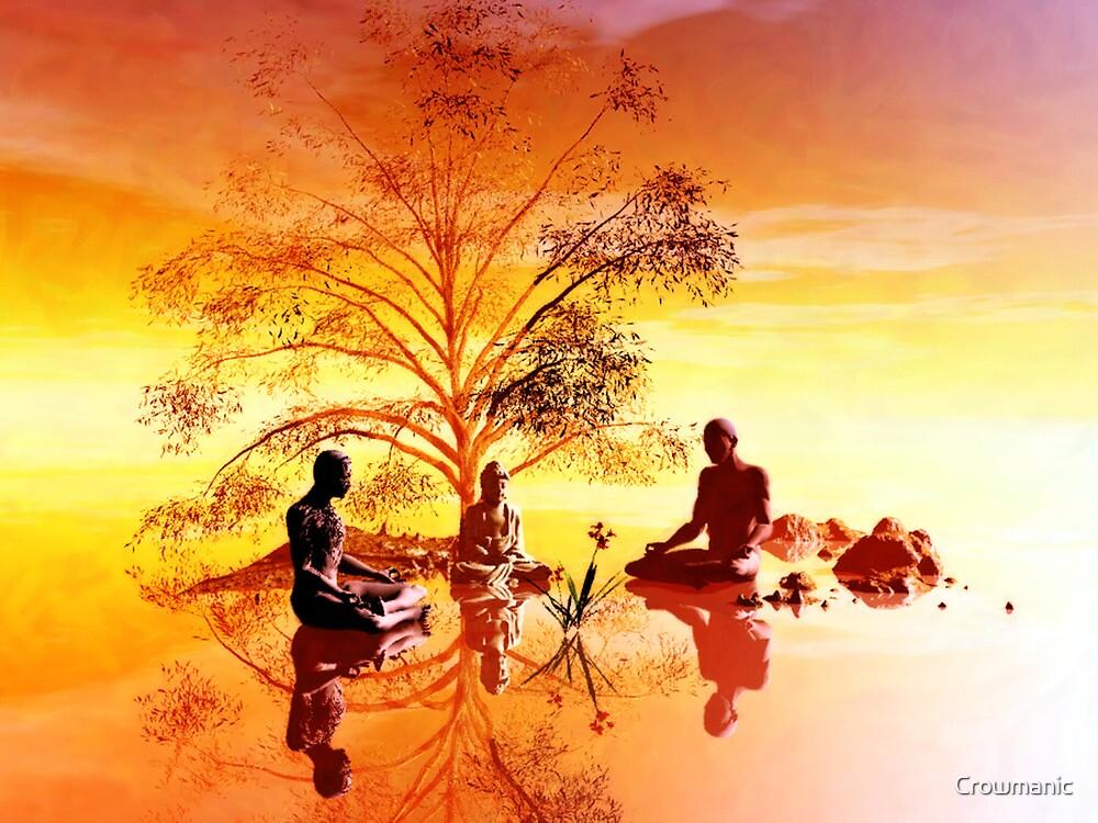 Ficus religiosa by Crowmanic