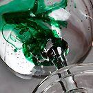 Green Wine by Sandra Wicklund