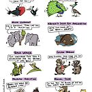 Pick up Lines from Wild Animals by rohanchak