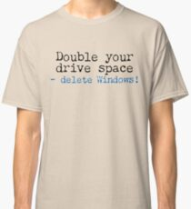 Double Your Drive Space Light Shirt Classic T-Shirt