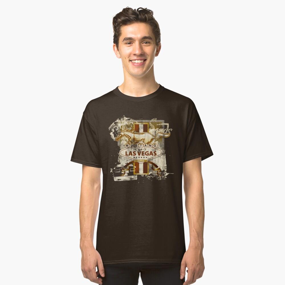 Mustang Club of LV (dark) Classic T-Shirt Front