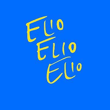 Elio Elio Elio cmbyn Schriftart von nicoloreto