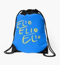 Elio Elio Elio cmbyn font  Drawstring Bag
