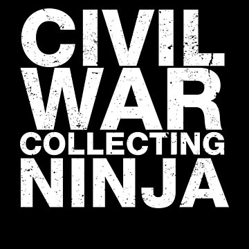 Civil War Memorabilia Shirt Civil War Collecting Ninja by shoppzee