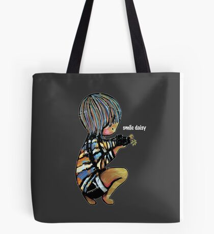 Smile Daisy Photographer Tote Bag