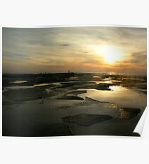 in the morning dark there be golden rocks Poster