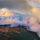 Morning clouds at Mt Buffalo by Peter Hammer