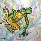 Joy - Frog 1 by scallyart