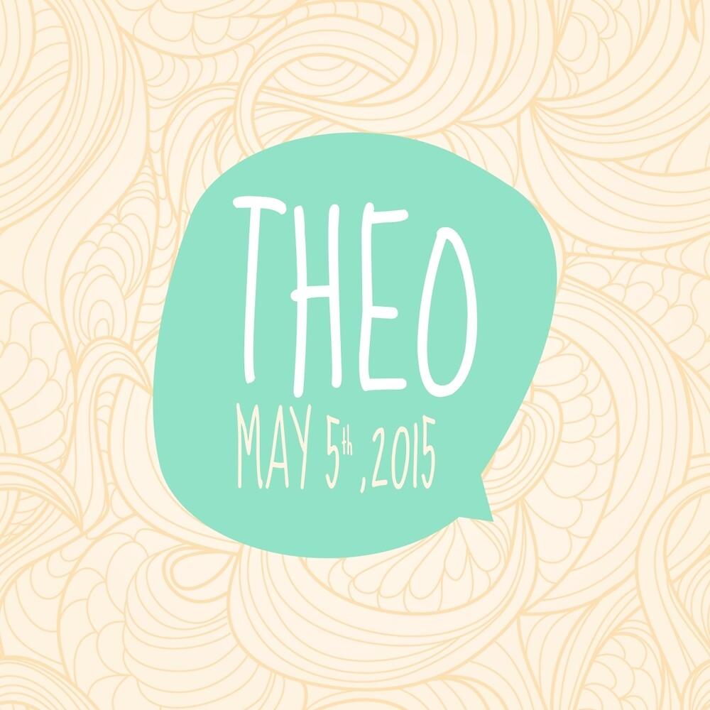 Theo - custom birthday by iseed