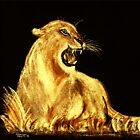 «Golden Cat» de Dawn B Davies-McIninch