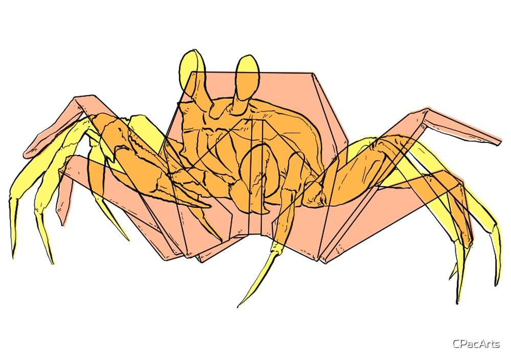 Origami Crab 3D Model $49 - .max .ma .fbx .c4d .unitypackage .upk ... | 707x1000